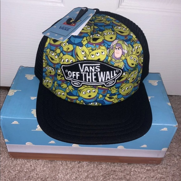 Vans Toy Story Aliens And Buzz Snapback Hat a9bc5fbeeeb5